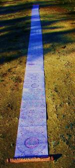 Death Spell Scroll over 30 feet in length.