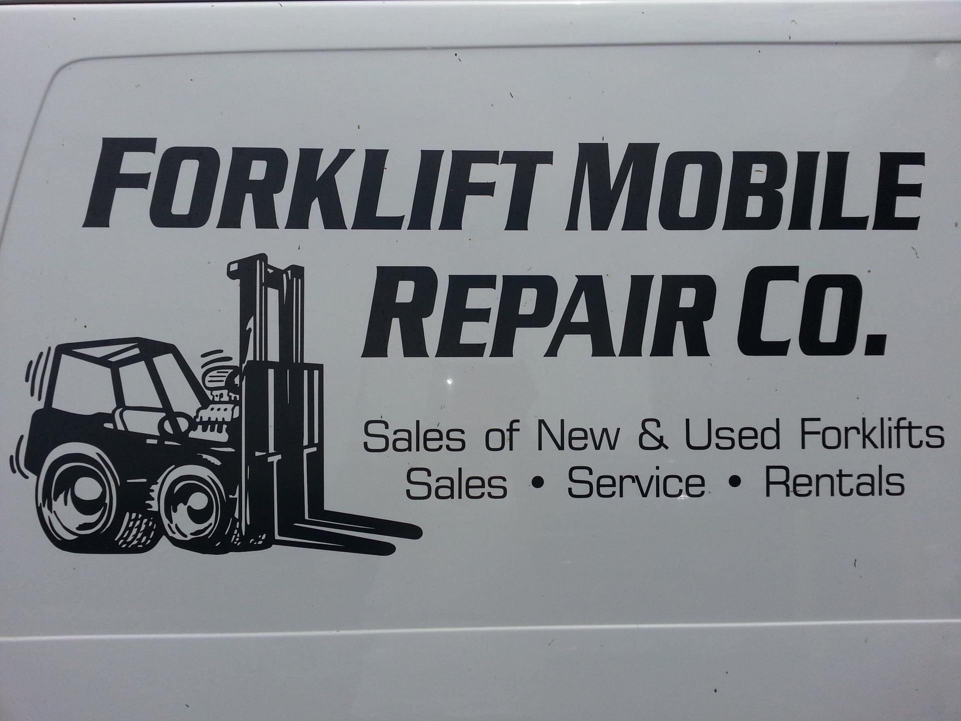 Forklift Mobile Repair