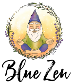Blue Zen Gnome Logo