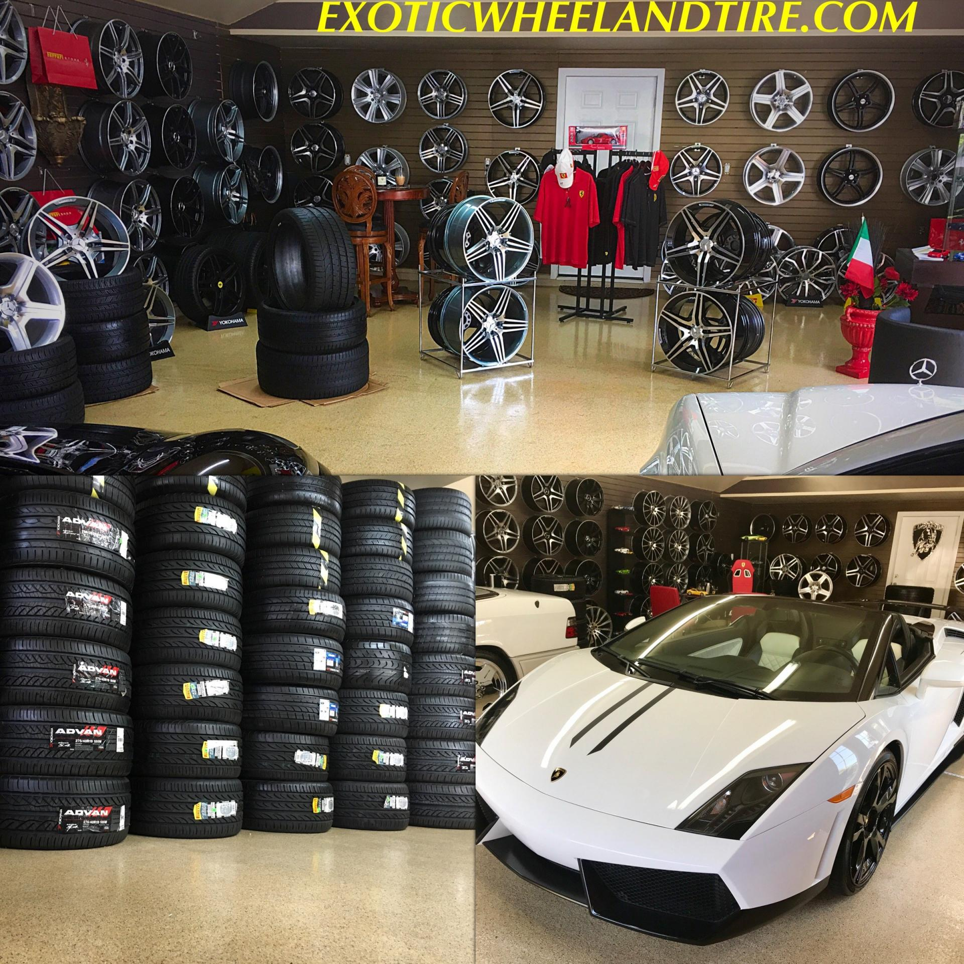 EXOTIC WHEEL AND TIRE