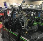 UTV Single Bar Bow Rack
