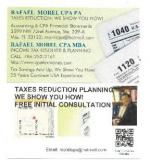 Taxes Reduction Planning