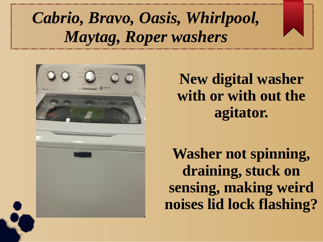 Mike D's Washer and Dryer Repair