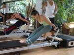 Tendon Stretch on the reformer