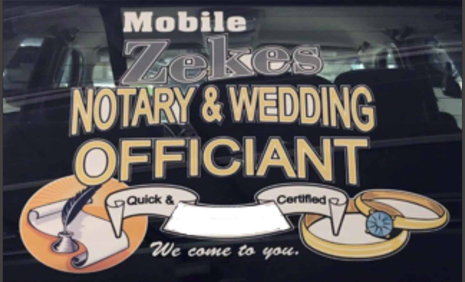Zekes Mobile Notary | Signing Agent | Process Server